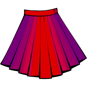 Poodle Skirt Clipart