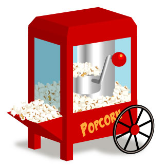 Popcorn And Movie Clipart   Clipart Panda   Free Clipart Images