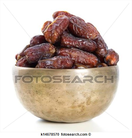 Stock Photography Of Ramadan Food Dates Fruit K14678570   Search Stock
