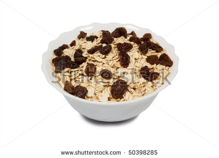 Bowl Of Oatmeal Clipart A Bowl Full Of Oatmeal With