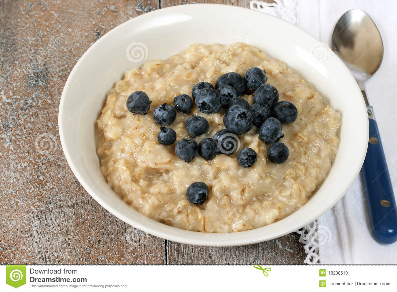 Bowl Of Oatmeal Clipart Bowl Of Oatmeal With