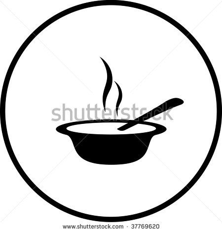 Bowl Of Oatmeal Clipart Bowl With Spoon Can Represent