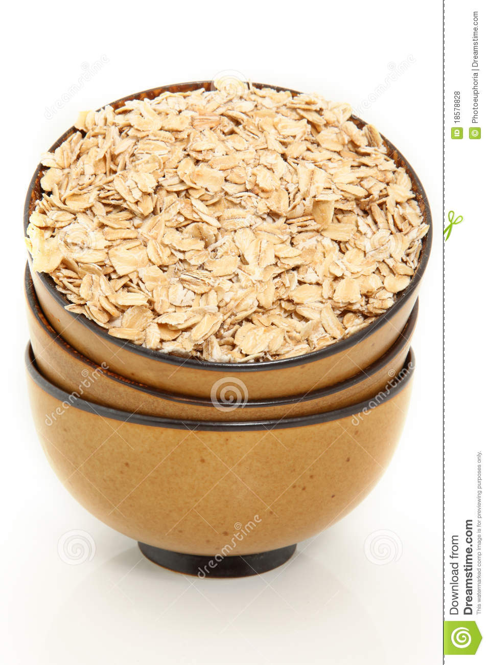 Bowl Of Oatmeal Clipart Whole Oats In Bowl
