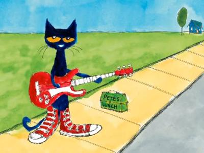 Clip   0 54 Min   Pete The Cat Is Back And This Time He S Rockin  And