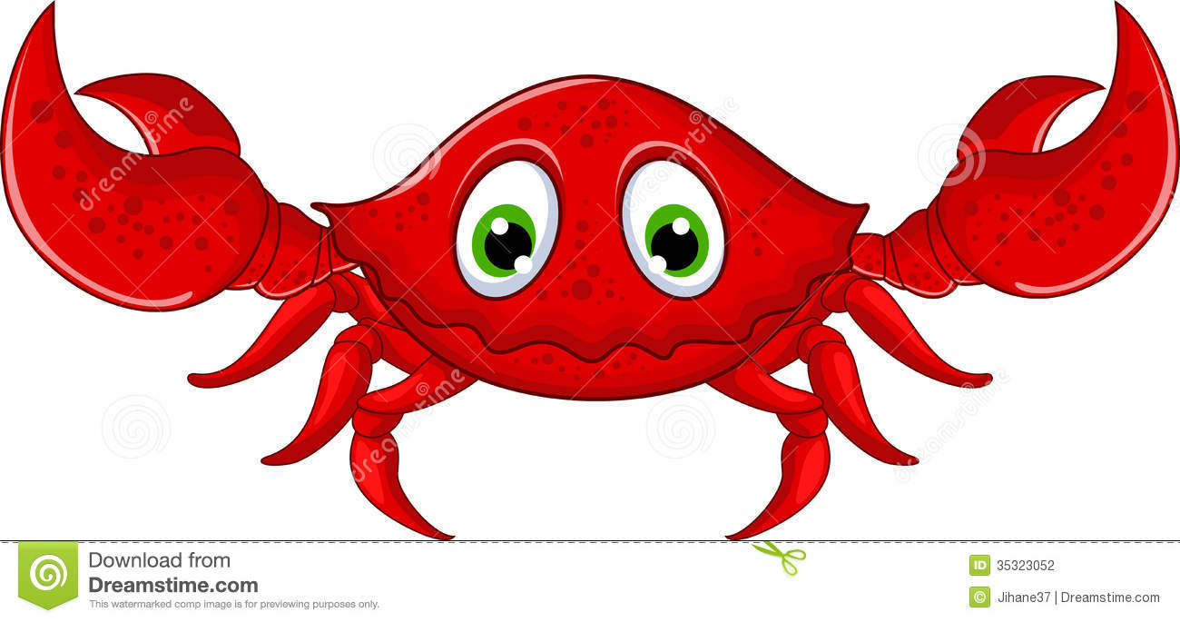 Cartoon Crab Clipart - Clipart Kid