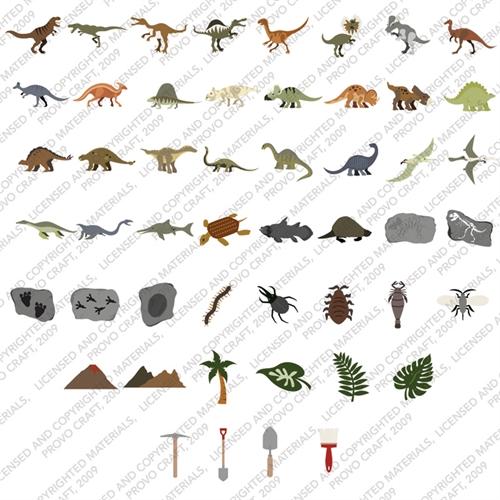 Dinosaur Tracks Clip Art