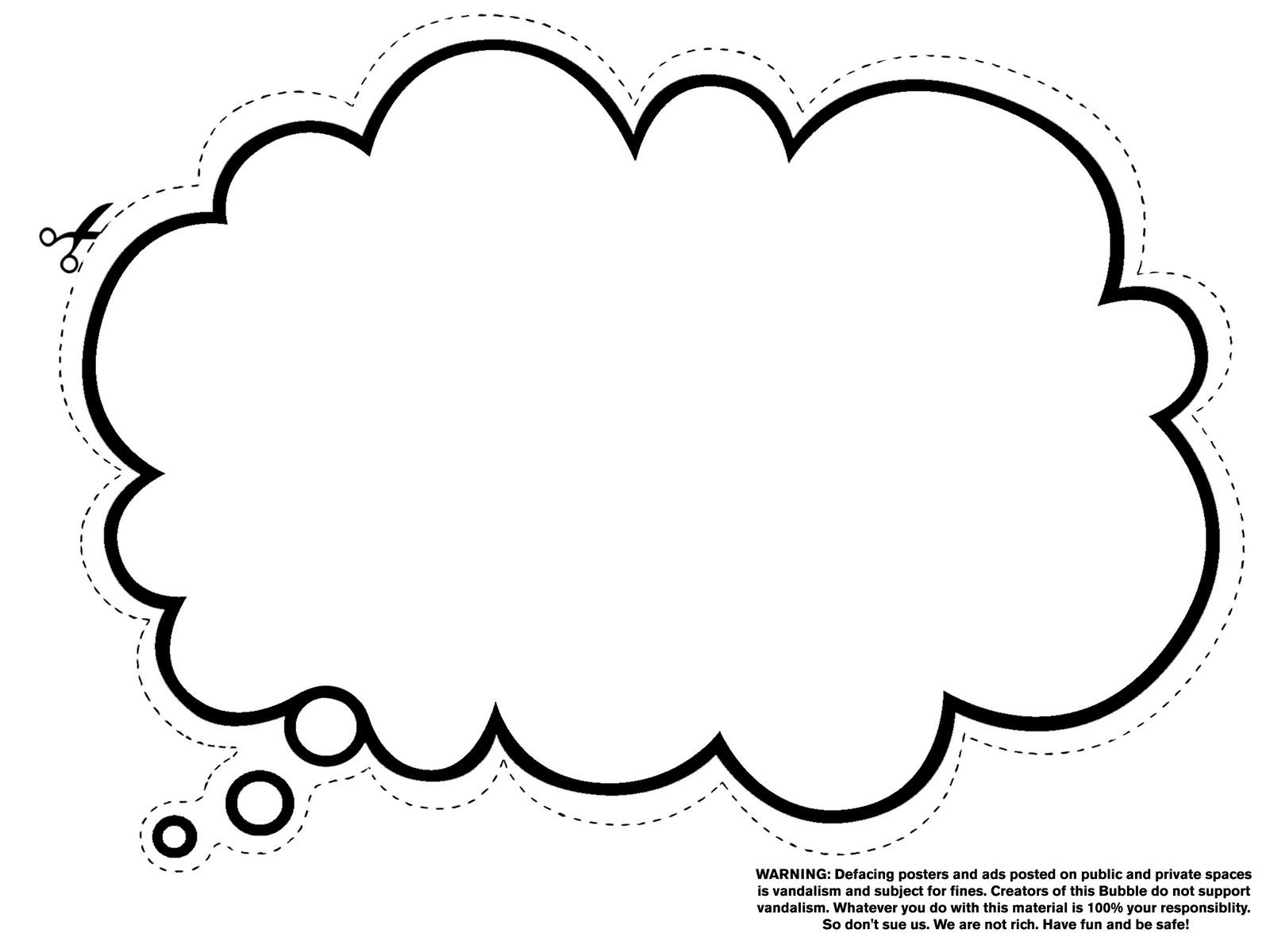 Dream Bubble Clipart - Clipart Kid