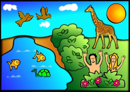 adam and eve clipart   clipart kid