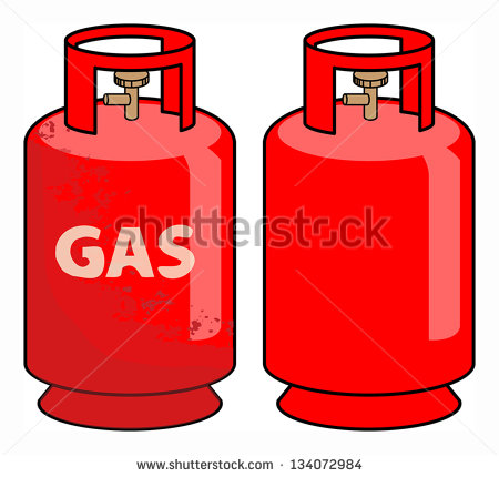 Gas Cylinder Clipart Propane Gas Cylinder Vector