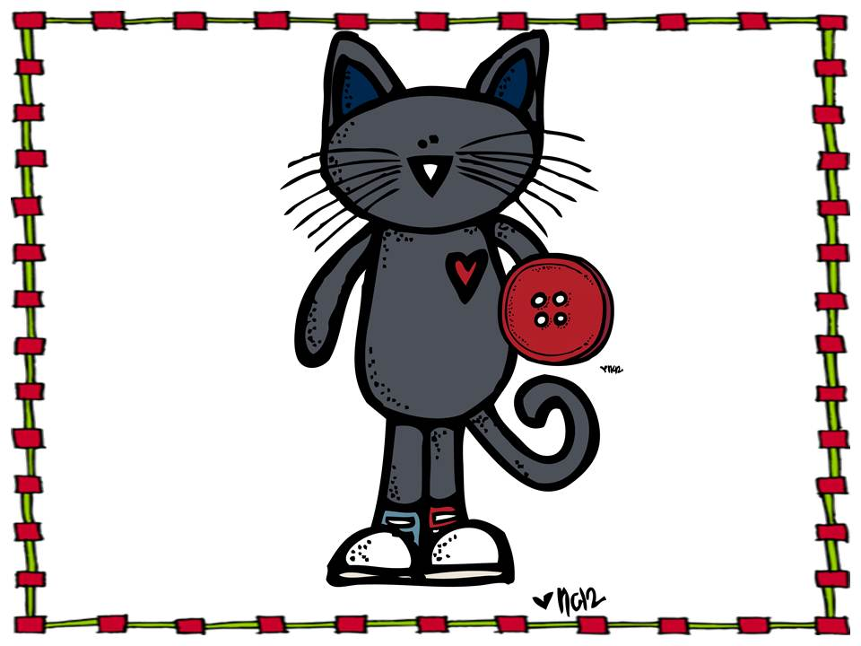 Pete The Cat Clipart Pete The Cat Counts Buttons