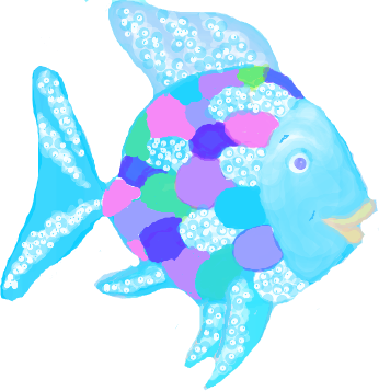 rainbow fish clipart clipart suggest rainbow fish clip art free rainbow fish clip art template