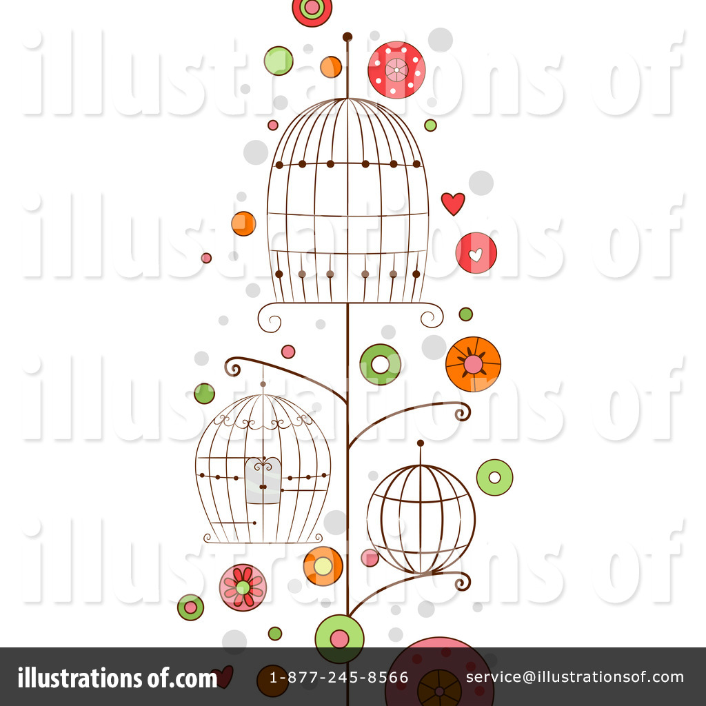 Royalty Free  Rf  Bird Cage Clipart Illustration By Bnp Design Studio