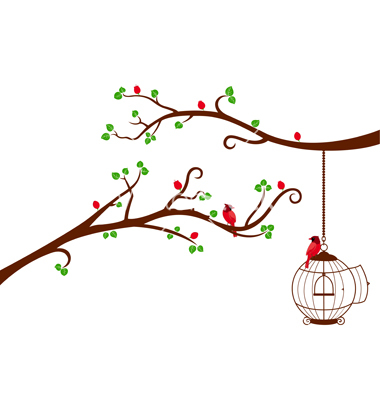 Whimsical Tree Limb Clipart   Cliparthut   Free Clipart
