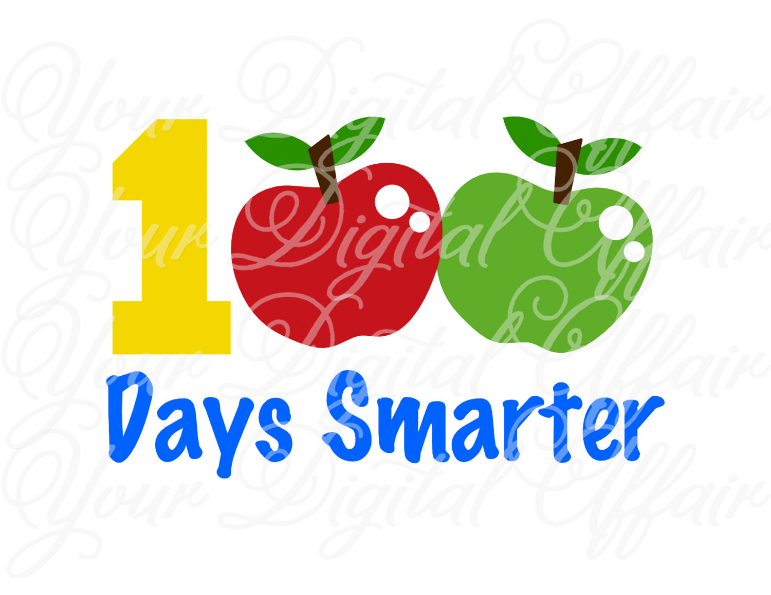 100th Day Clipart 100 Days Smarter 100th Day Of