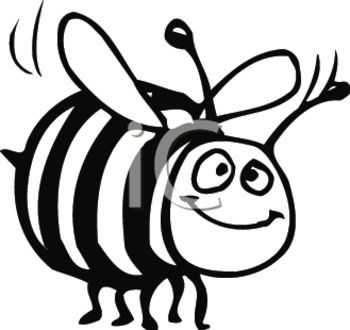 And White 0511 1203 0718 4150 Black And White Clipart Of A Bumble Bee
