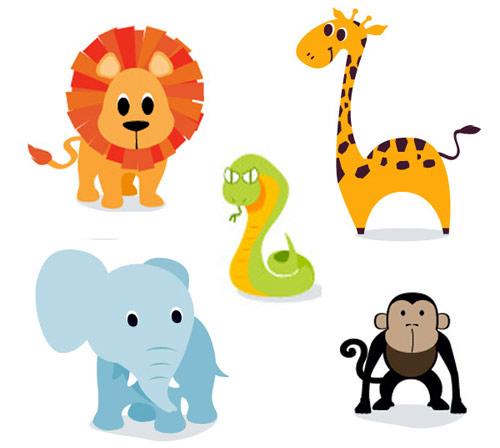 free clipart cartoon animals - photo #22
