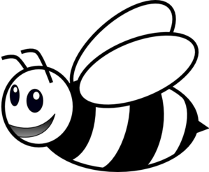 Bee Clipart Black And White   Clipart Panda   Free Clipart Images
