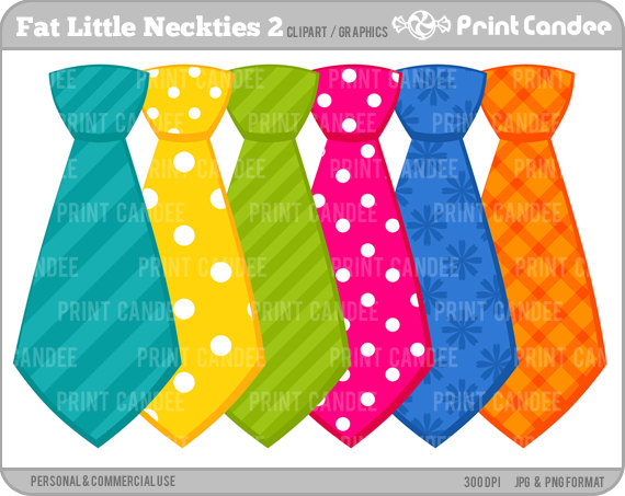 Clip Art   Personal And Commercial Use   Ties Neck Ties Fathers Day