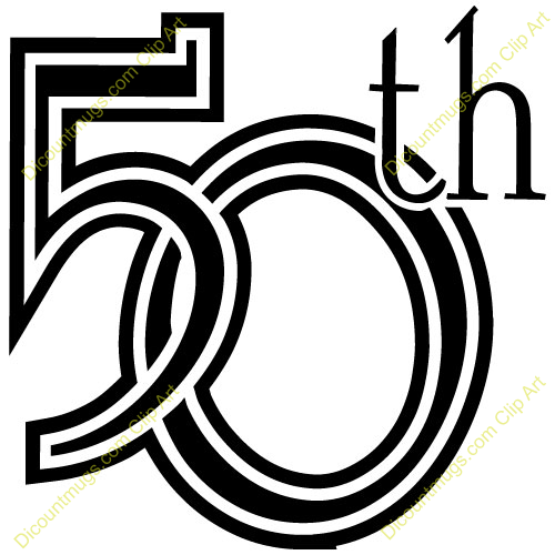 funny 50th birthday clipart clipart kid