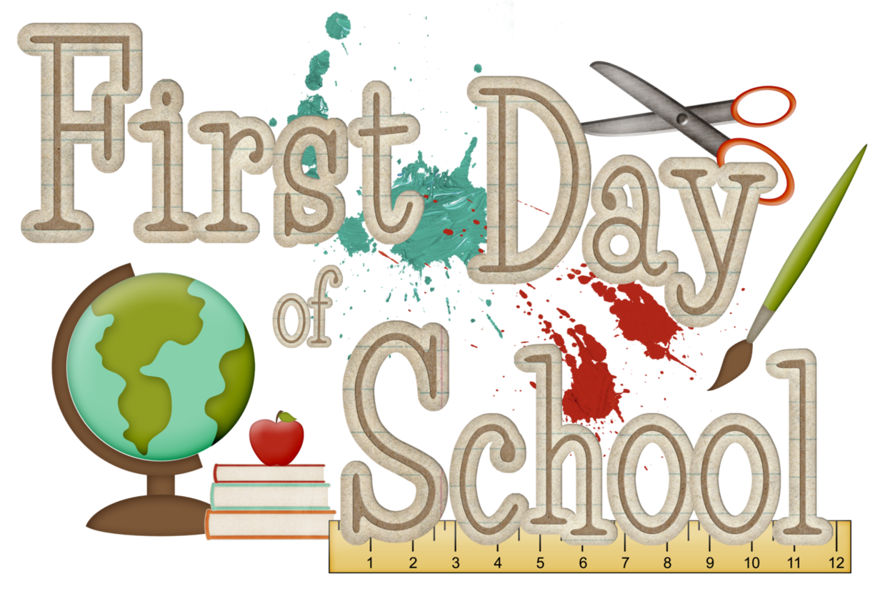 Clip Art First Day Of School Clip Art first day of school clipart kid school