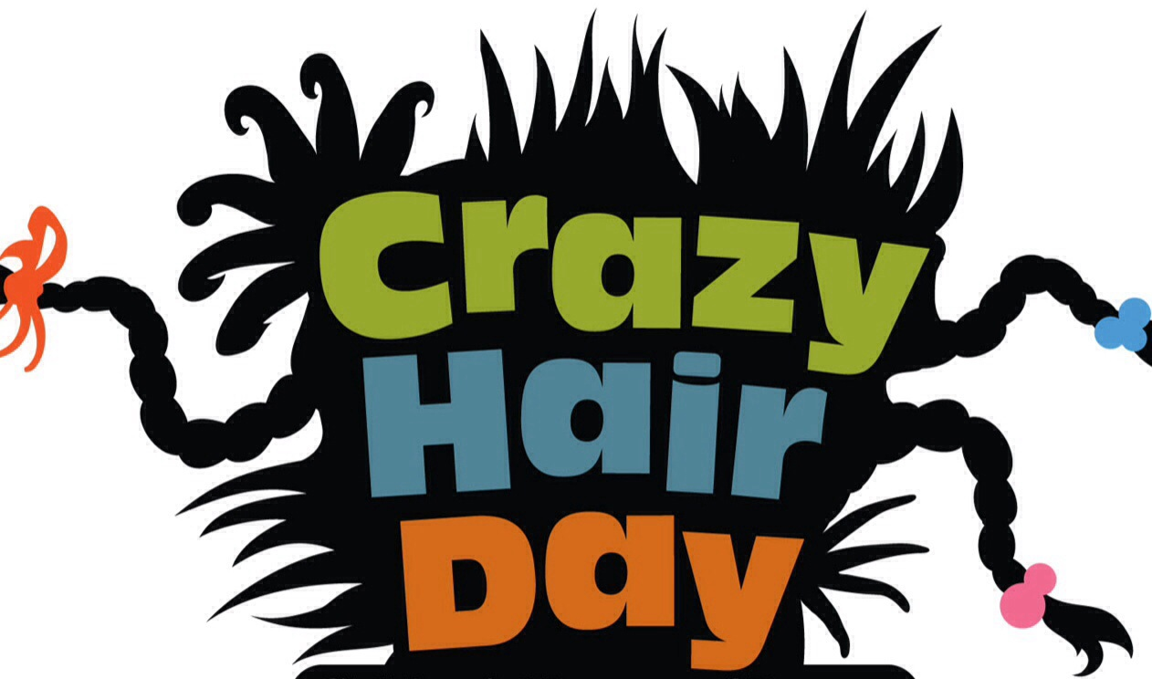 Pix For   Wacky Hair Day Clip Art