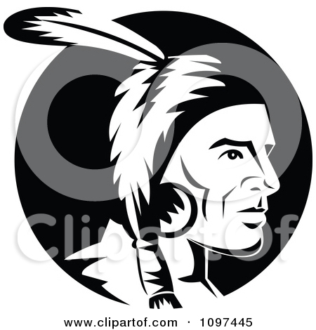 Royalty Free  Rf  Native American Brave Clipart Illustrations Vector