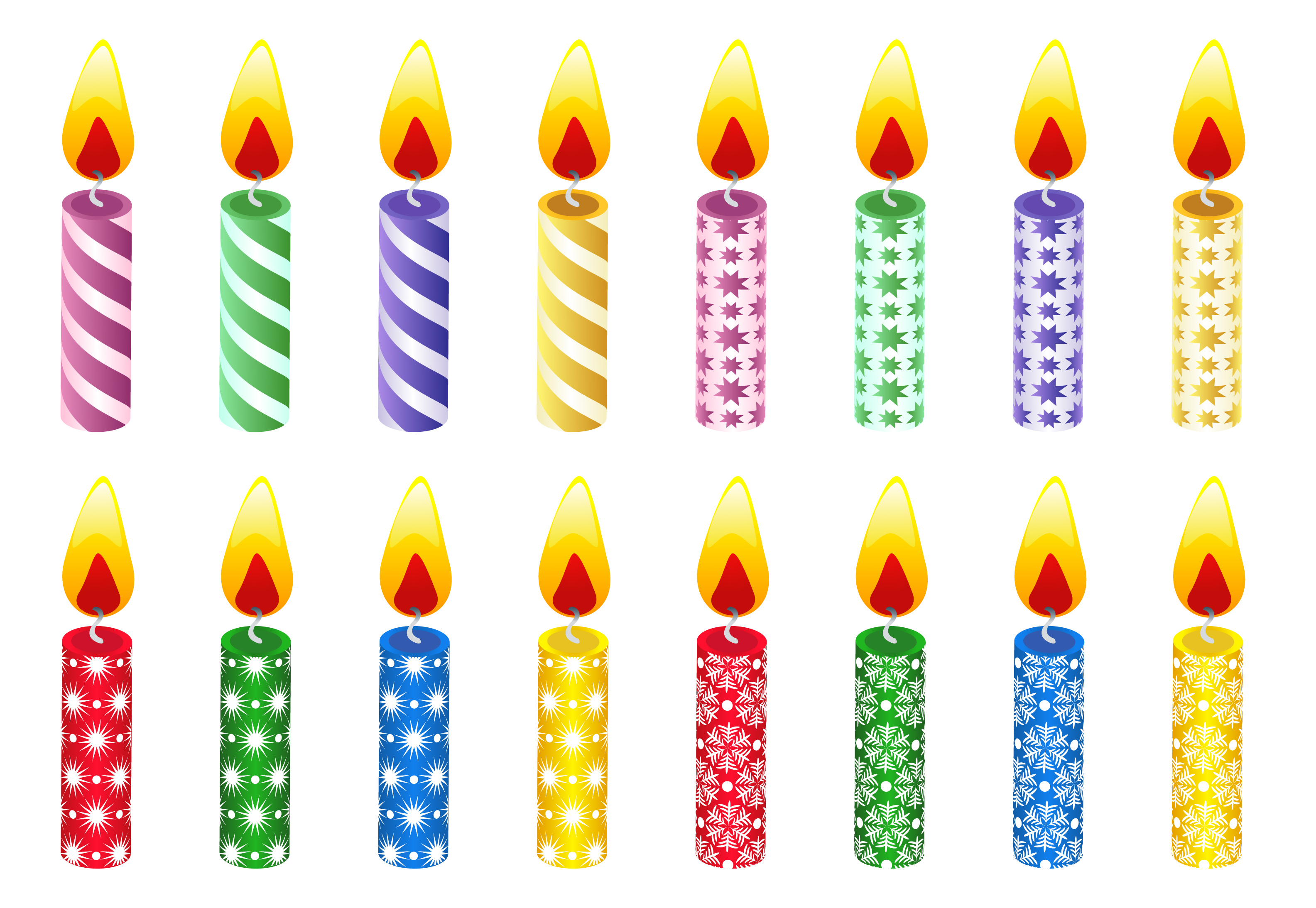 Clip Art Birthday Candle Clipart birthday candle clipart kid this is a great set of candles to use for games or classroom