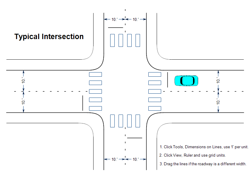 Typical Traffic Intersection