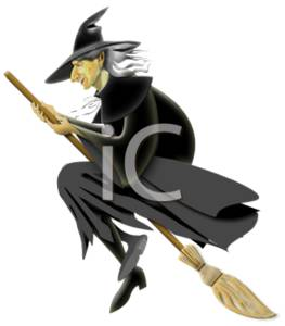 Clip Art Kid Wicked Witch