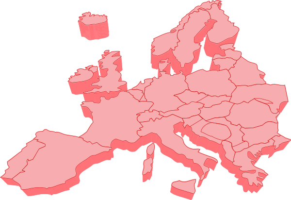 10 Vector Map Of Europe Free Cliparts That You Can Download To You