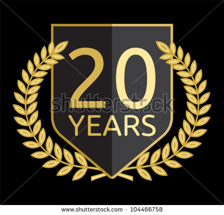 20 Years Anniversary Stock Photos Illustrations And Vector Art