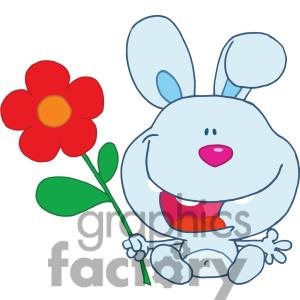 Happy Flower Clipart