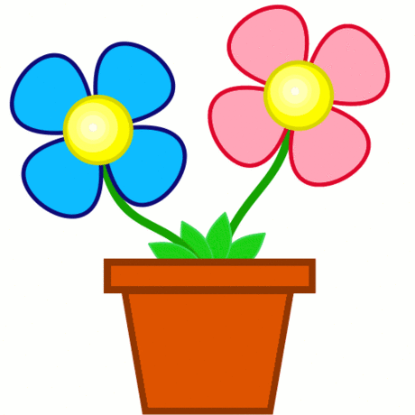 Happy Flower Clipart   Clipart Panda   Free Clipart Images