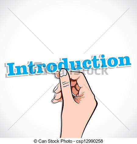 Introduction Clipart Can Stock Photo Csp12990258 Jpg