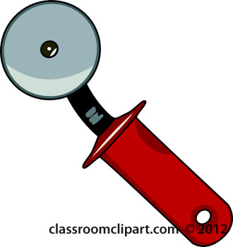 Kitchen   Pizza Cutter 135   Classroom Clipart