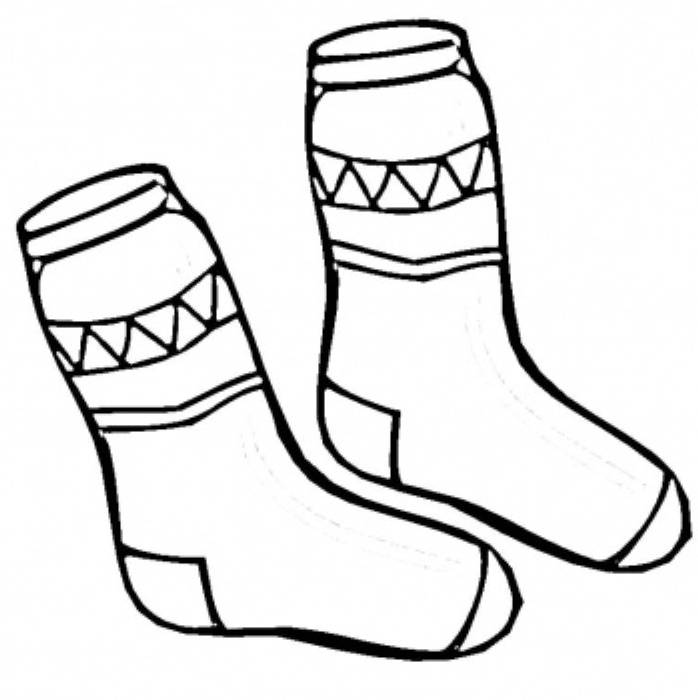 Winter Socks Clipart - Clipart Kid