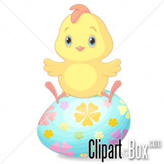 Related Easter Chick Cliparts