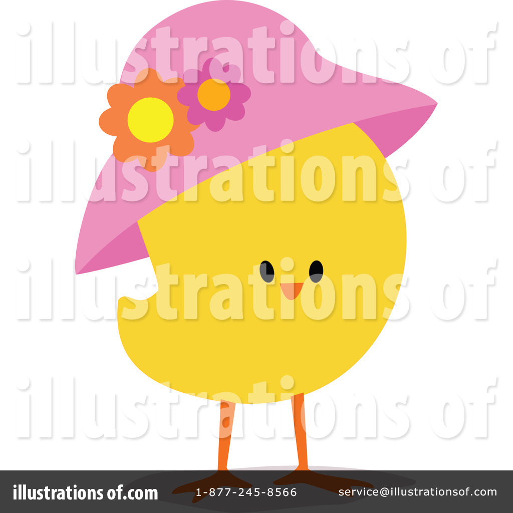 Royalty Free  Rf  Easter Chick Clipart Illustration By Peachidesigns