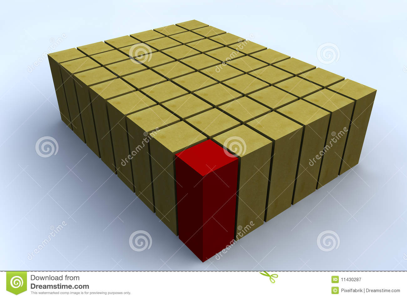 3d Rectangle Royalty Free Stock Photography   Image  11430287