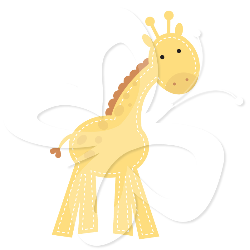 Baby Giraffes   Creative Clipart Collection