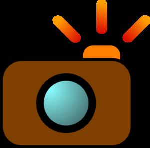 Camera Flash Clipart Camera Brown Md Png