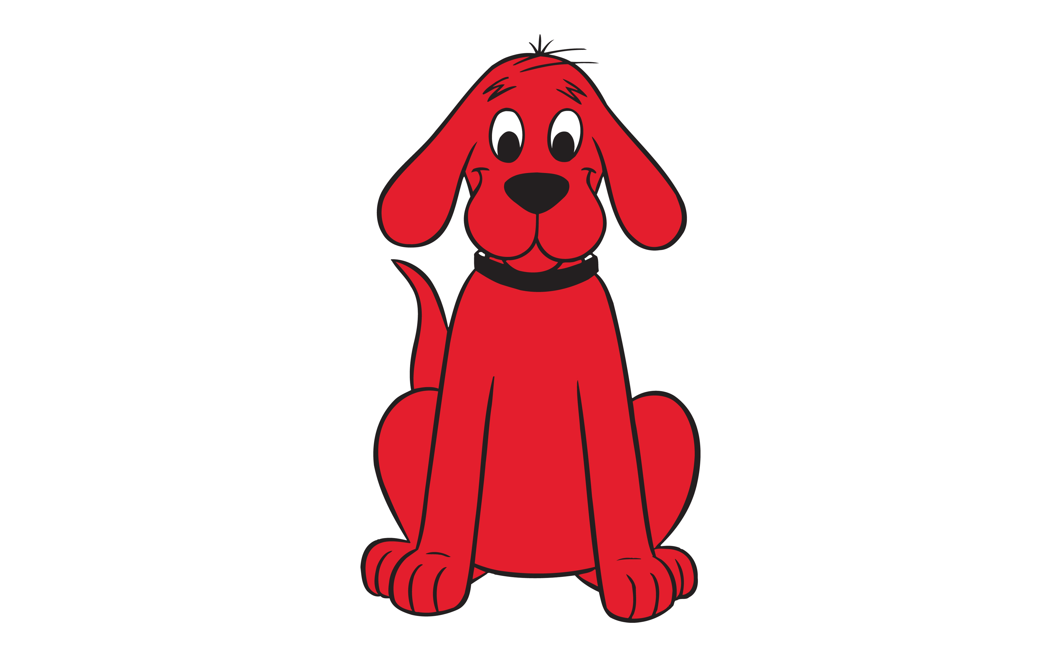 Clifford The Big Red Dog Clipart Pictures To Pin On Pinterest
