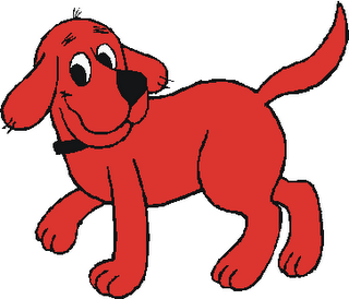 Clifford The Big Red Dog Kinda Love      And Ran Crying From The Room