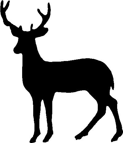Deer Outline   Clipart Best