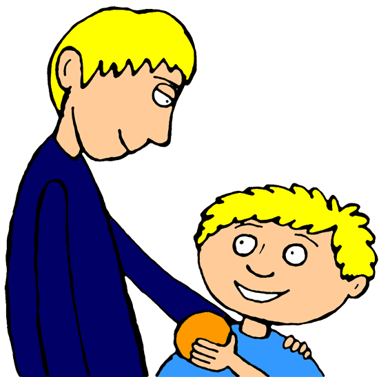 Two Brothers Clipart
