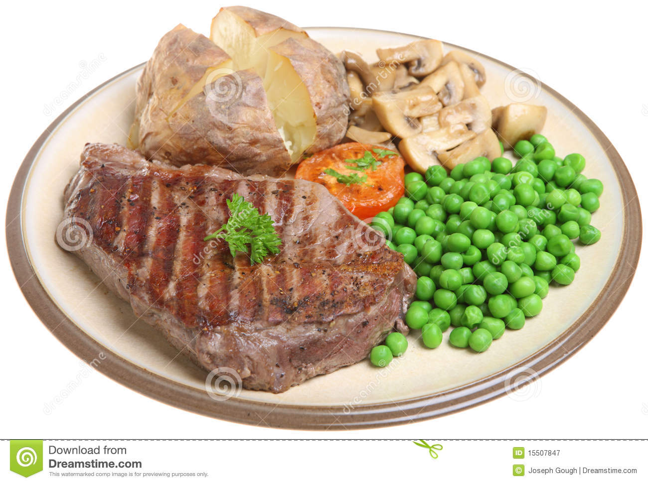 Steak Dinner Clipart Sirloin Steak Dinner