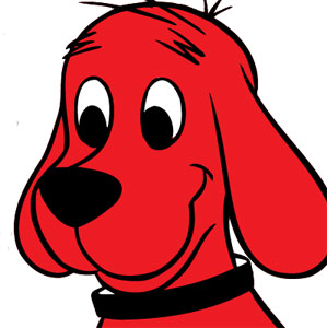Clip Art Clifford Clipart clifford the dog clipart kid view profile czar