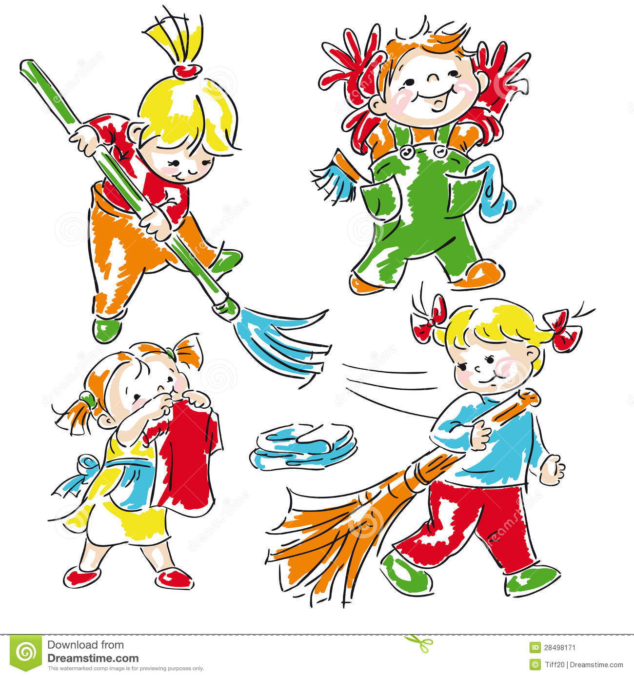 Clean Up Classroom Clipart Children Clean Up Clipart
