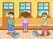 Kids Clean Up Time Clipart Kids Time
