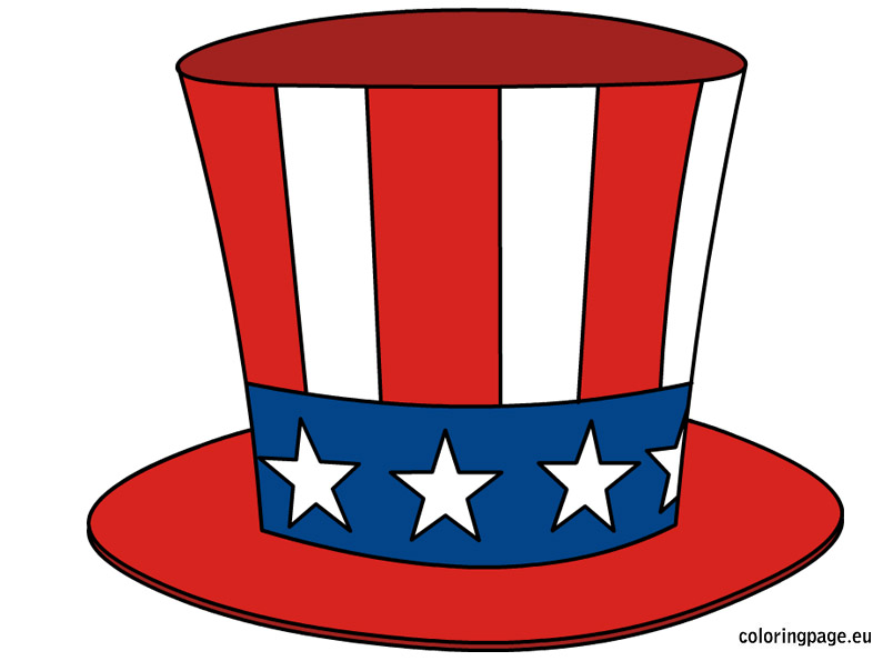 Uncle Sam Hat Clipart - Clipart Kid
